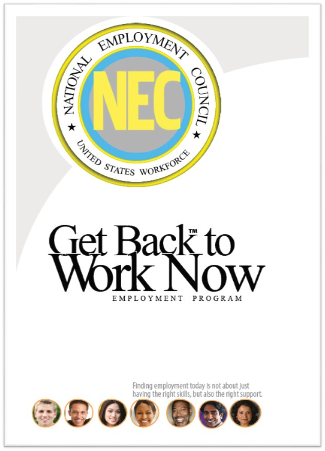 Get Back to work now brochure