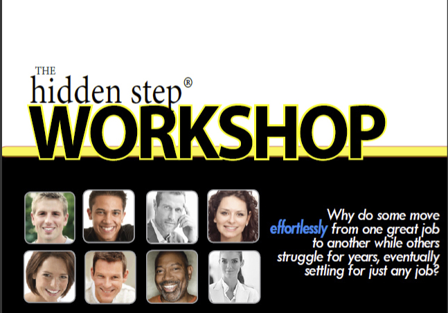 The Hidden Step Workshop